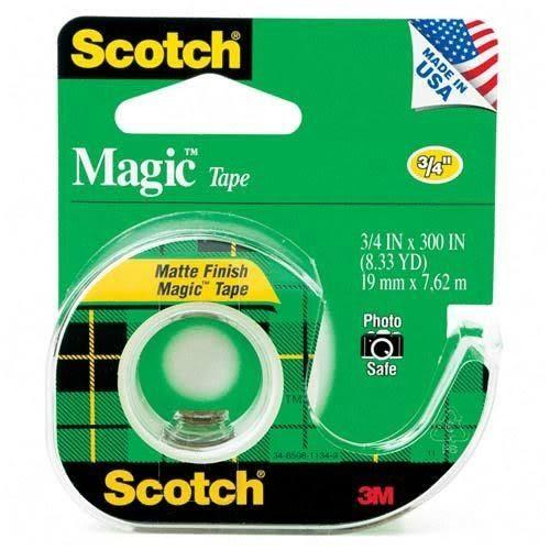 3M Scotch 隱形膠帶附輕便膠台(105)19mm×7.6m