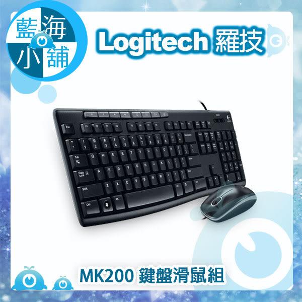 Logitech 羅技 MK200 鍵盤滑鼠組