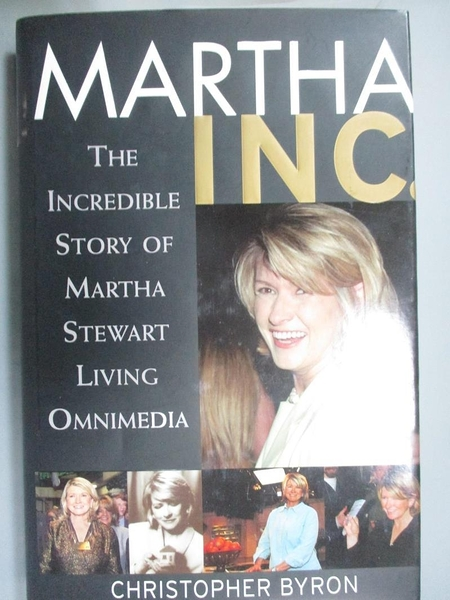 【書寶二手書T1/傳記_PLE】Martha Inc.: The Incredible Story of..._Byron