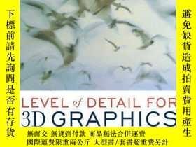 二手書博民逛書店Level罕見Of Detail For 3d GraphicsY256260 David Luebke Mo
