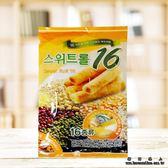健康營養16種穀物棒(180g) 健康營養穀物捲餅 穀物棒 米果棒