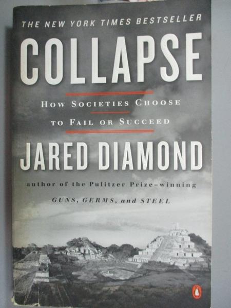【書寶二手書T8/社會_JPZ】Collapse-How Societies Choose to Fail or Suc