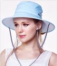 SUNSOUL/HOII/后益---新光感(防曬光能布)---圓桶帽 藍光【有機樂活購】