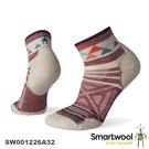 【速捷戶外】Smartwool 美麗諾羊毛襪 SW001226A32 PhD戶外輕量印花短筒襪(玫瑰粉)-女款