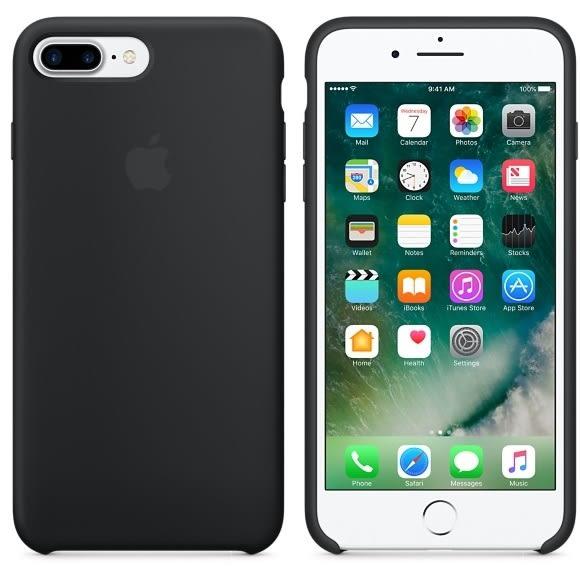 APPLE iPhone 7 Plus 原廠矽膠護套 5.5吋 手機套 黑色 iphone7plus手機殼