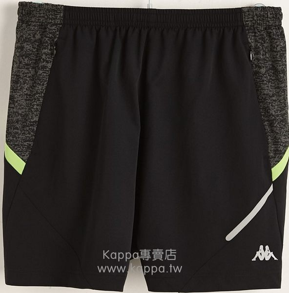 Kappa男平織慢跑短褲B766-7131-84