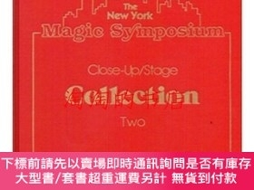 二手書博民逛書店The罕見New York Magic Symposium, Close Up Stage Collection,