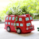 美式復古小汽車多肉植物創意花盆家居裝飾個性陽台花器擺件肉 鉅惠85折