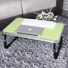 床上用筆記本電腦桌支架小書桌懶人折疊桌學生宿舍便攜多功能桌子  麻吉鋪