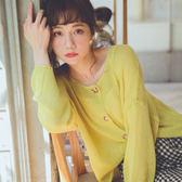 MUMU ~T51906 ~初秋針織縷空小開衫~五色