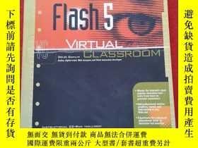 二手書博民逛書店Flash罕見5 VIRTUAL CLASSROOM(原版書)附光盤Y12345 DOUG SAHLIN OS