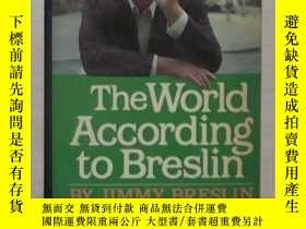 二手書博民逛書店英文原版罕見The World According to Bre