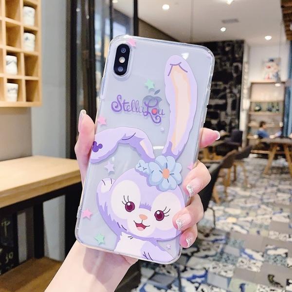 跳舞兔子 iPhone SE2 XS Max XR i7 i8 i6 i6s plus 透明手機殼 達菲熊 星黛露 保護殼保護套 全包邊軟殼