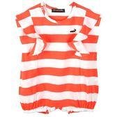 『小鱷魚童裝』條紋連身裝(0號~01號)535584