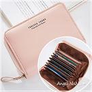 短夾-多卡位大容量風琴卡包女皮夾 Angelnana (SMA0239)