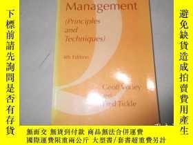 二手書博民逛書店Quality罕見Management: Principles