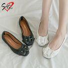 Sugar pie-韓版柔軟紋路包鞋 #125