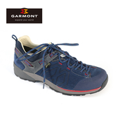 GARMONT 男款 GoreTex低筒郊山健走鞋Santiago Low GTX 481241/213 藏青 / 登山鞋、防水、黃金大底