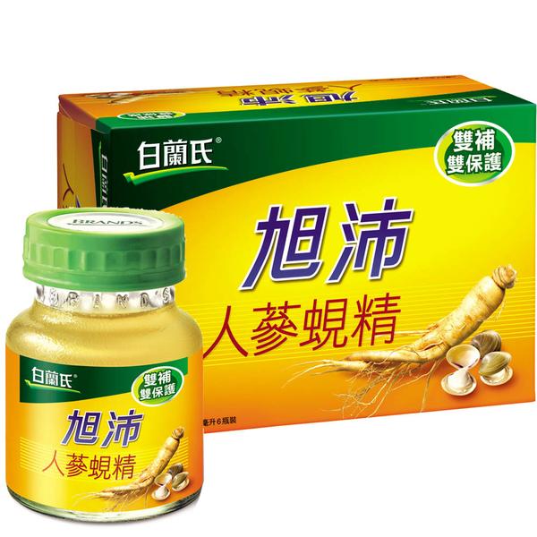 白蘭氏 旭沛人蔘蜆精 (60g*6瓶 /單盒) 健字號【杏一】