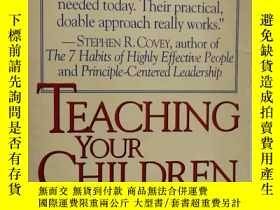 二手書博民逛書店Teaching罕見Your Children Values L