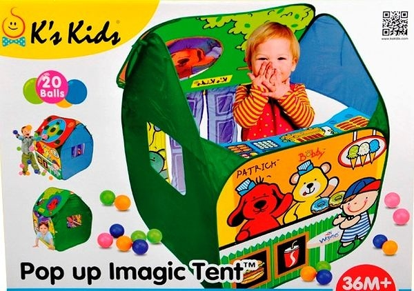 K's Kid - Pop Up Imagic Tent 立體魔法球屋【TwinS伯澄】