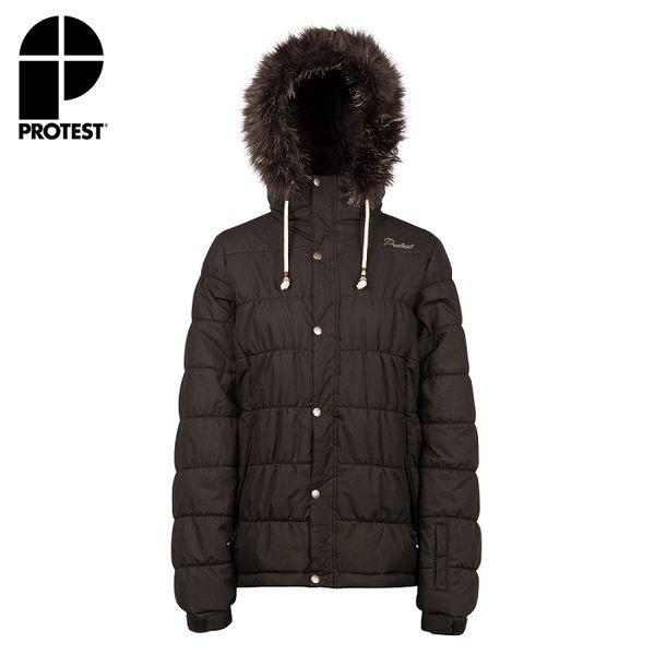 PROTEST 女 防水保暖外套 (真實黑) SEMMY SNOWJACKET