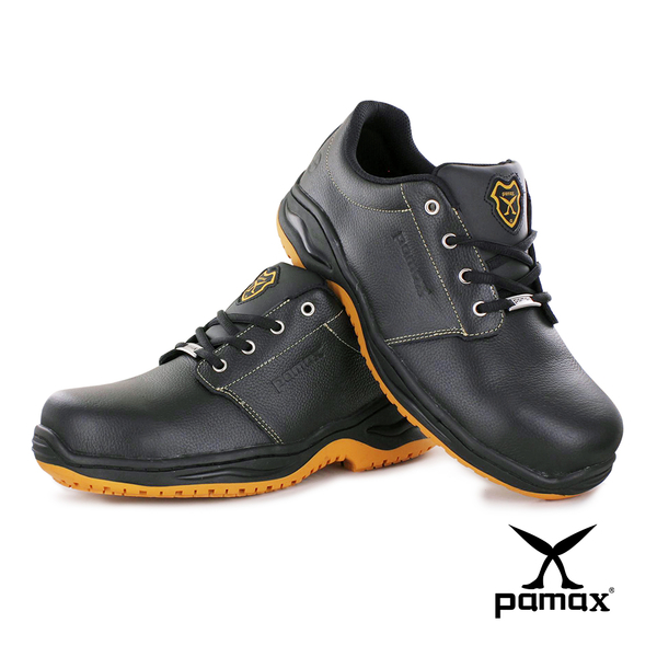 PAMAX 帕瑪斯【防穿刺+鋼頭高抓地力安全鞋】專利防滑底、餐飲、廚師工作鞋 ※ PA3502PPH-男女尺寸