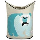 加拿大 3 Sprouts 洗衣籃 藍天白熊【原廠公司貨】