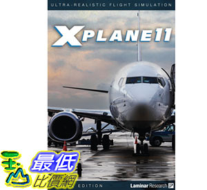 [107美國直購] 飛行模擬器 Official Version - X-Plane 11 Global Flight Simulator (PC, MAC & LINUX)
