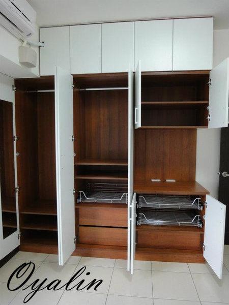 『歐雅系統家具』系統衣櫃 系統櫃 EGGER E1V313低甲醛防潮塑合板 系統家具