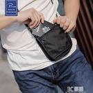 旅行貼身腰包男隱形多功能跑步運動包防水RFID防盜護照包證件錢包 3C優購