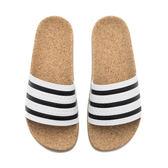 【GT】Adidas Originals W Adilette Cork 白 女鞋 拖鞋 現貨 時尚 簡約 愛迪達 三葉草 軟木塞 BA7210