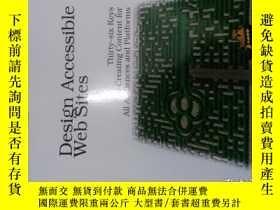 二手書博民逛書店Design罕見Accessible Web Sites: 36