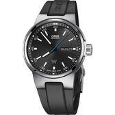 ORIS 豪利時 Willimas F1賽車系列日曆星期機械錶-黑/42mm 0173577164154-0742450
