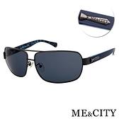 【南紡購物中心】【SUNS】ME&CITY 時尚飛行員金屬方框太陽眼鏡 抗UV400 (ME 110012 C680)