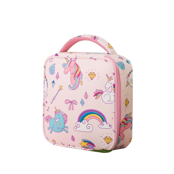 手提保溫袋 便當袋 飯盒袋 午餐包 幼稚園餐袋 野餐包 卡通餐袋 保冰保冷餐袋 88553