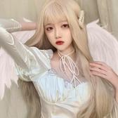 日系Lolita假發女長發劉海修臉自然可愛全頭套【聚可愛】