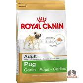 【寵物王國】法國皇家-PUG25巴哥成犬專用飼料3kg
