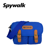 SPYWALK 韓版青春校園雙口袋尼龍側肩包 NO:S5020(小款)