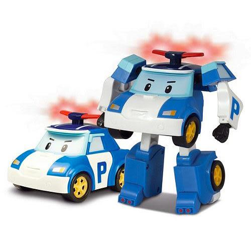 《 POLI 波力 》變形車系列 - LED 變形波力 ╭★ JOYBUS玩具百貨