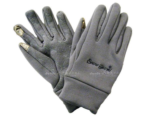 丹大戶外用品【SnowTravel】 美國X-static銀纖維保暖防風手套 可帶著觸控螢幕 防滑/觸控 型號AR-61 灰
