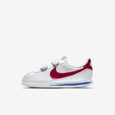 Nike Cortez Basic Sl (psv) [904767-103] 中童鞋 運動 休閒 基本 慢跑 白 紅