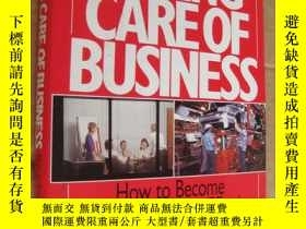 二手書博民逛書店TAKING罕見CARE OF BUSINESS (Qualit