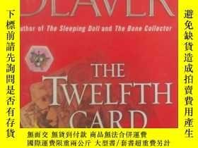 二手書博民逛書店第十二張牌罕見the twelfth card(英文原版小說)