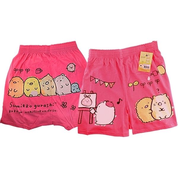 角落小夥伴平口褲(粉色) 1件入 尺寸可選【小三美日】原價$149