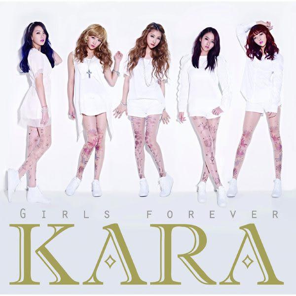 KARA  GIRLS FOREVER 初回限定盤 CD附DVD (音樂影片購)