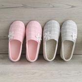 (萬聖節狂歡)孕婦鞋透氣夏季薄版月子拖鞋防滑婦室內春秋產後包跟月子鞋產婦