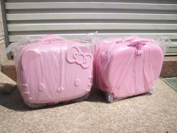 兒童拉桿箱 18寸立體KT貓行李箱YG-344