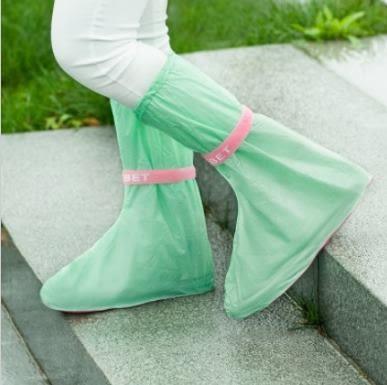 預購 - SAFEBET 彩色夏季新款戶外旅遊防滑雨鞋套 防水防雨加厚雨靴套