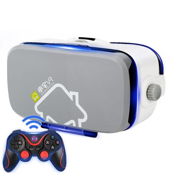 小宅vr眼鏡Z4灰灰一體機頭戴式手機專用4d智能ar眼睛3d虛擬現實